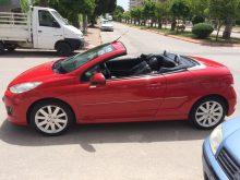 Прокат кабриолета Peugeot 207 CC в Анталии