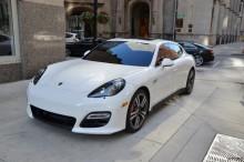 Porsche Panamera 2013 model в аренду в Анталии