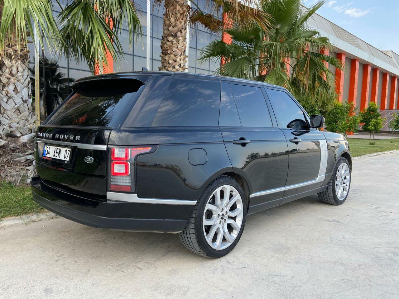 Аренда автомобилей Range Rover прокат в Анталии