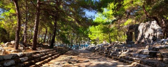 Древний город Фазелис - изюминка Кемера