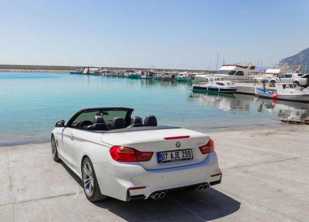 аренда кабриолета BMW 420d в Анталии